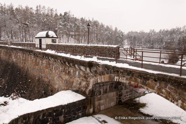Jevišovická přehrada v zimě - o Velikonocích:)